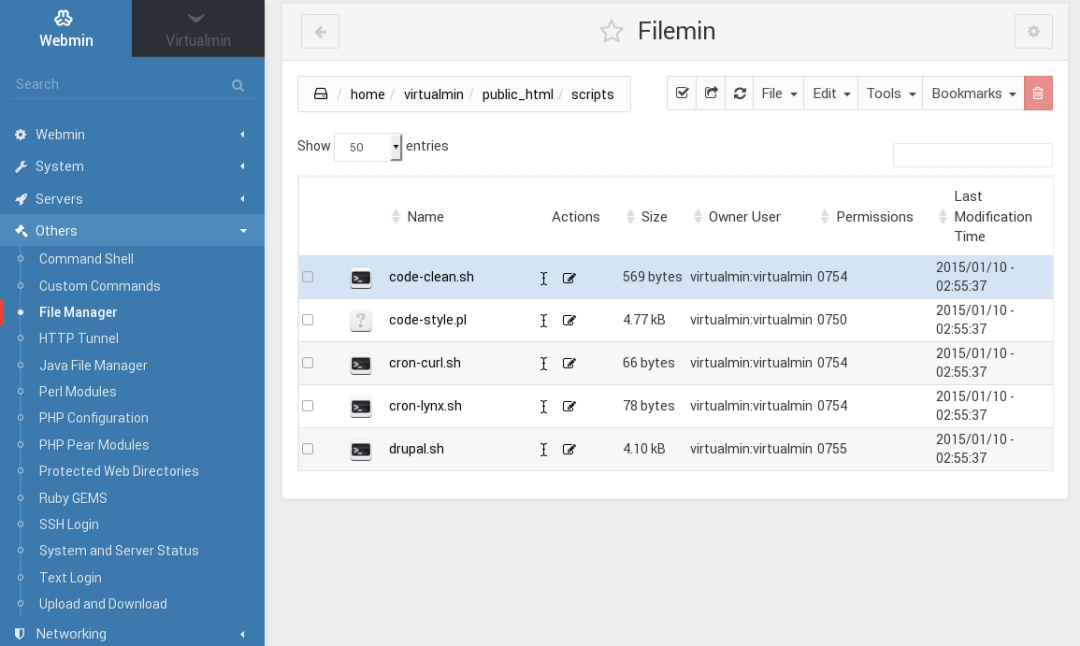 New HTML5 File Manager