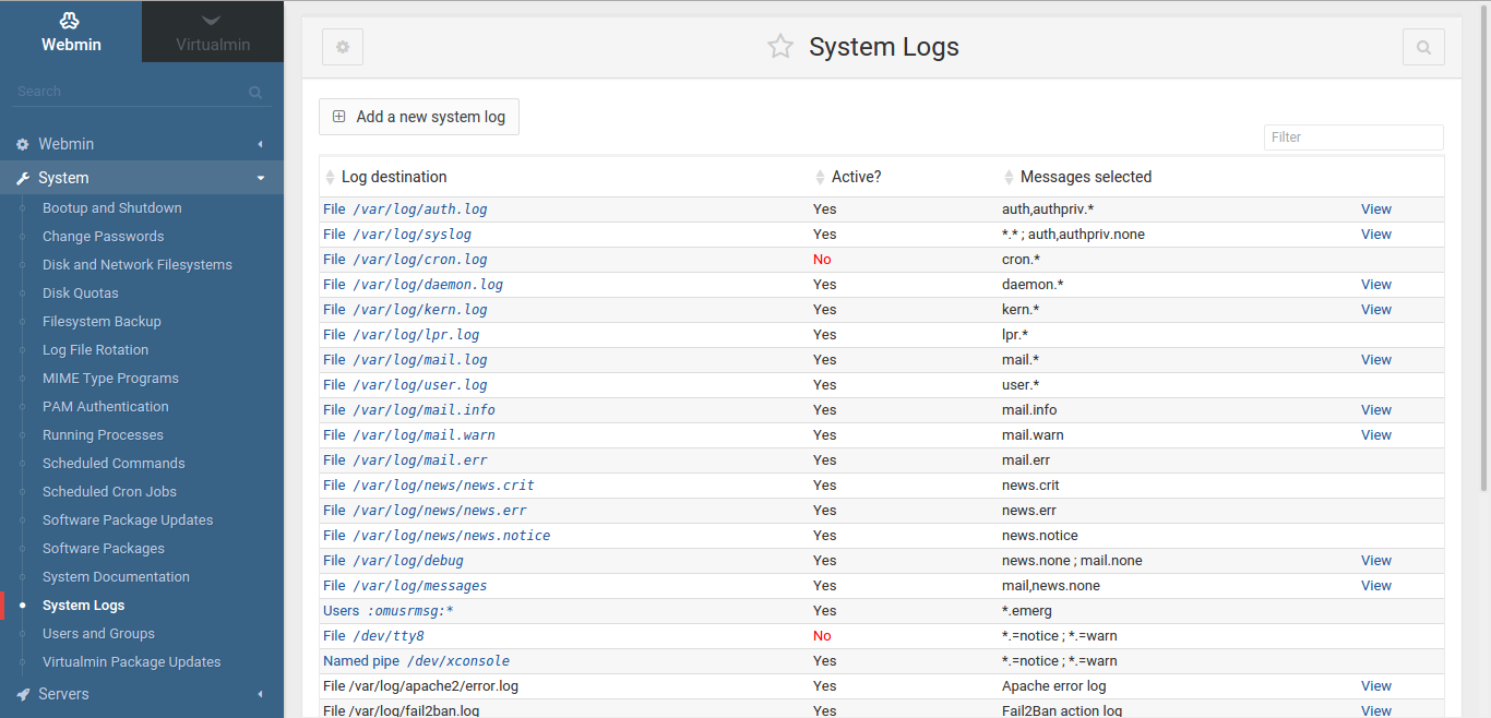 Alerts, graphs, and logs